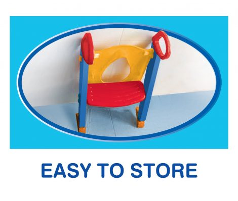 Chummie Joy Potty Trainer - Easy to Store - Available at One Stop Bedwetting