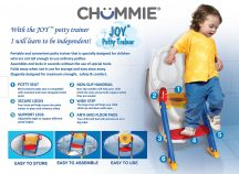 Chummie Joy Potty Trainer - Portable and Convenient - Available at One Stop Bedwetting