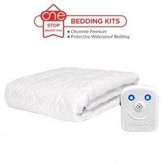 Chummie Premium Bedding Kit in Blue - Waterproof Bedding - One Stop Bedwetting