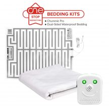 One Stop Bedwetting - Chummie Pro Bedding Kit - Dual-Sided Waterproof Bedding
