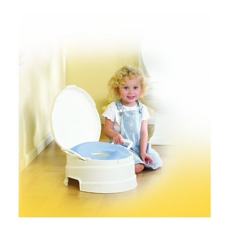 Primo 4-in-1 Soft Seat Toilet Trainer with Girl