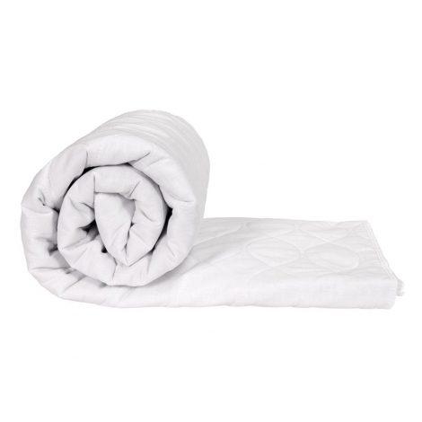 Waterproof bedding rolled view