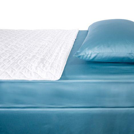 Waterproof bedding overlay top view
