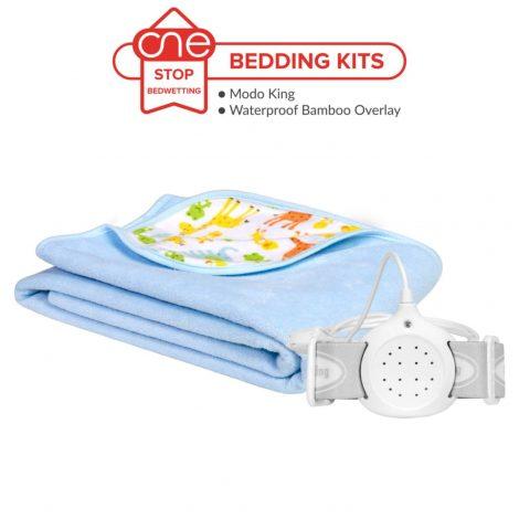 ModoKing Bedwetting Alarm Bedding Kit - One Stop Bedwetting
