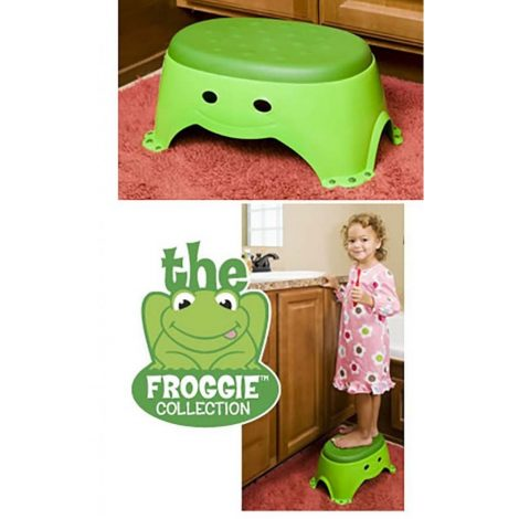 Frogger Step Up Stool - One Stop Bedwetting