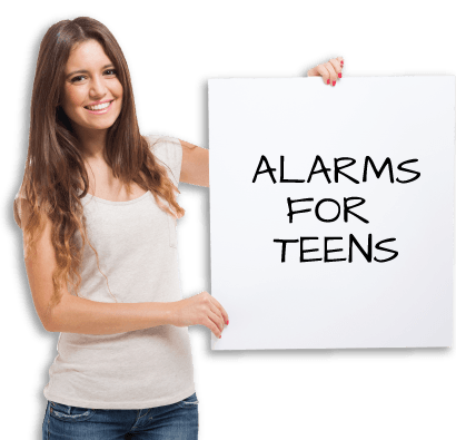 Alarms for teens - One Stop Bedwetting