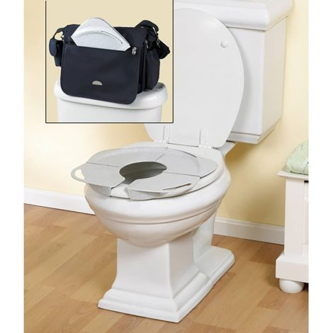 Primo Folding Potty With Handles - One Stop Bedwetting