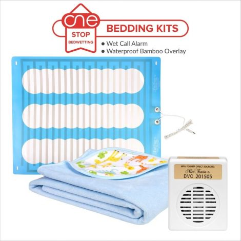 Wet Call Bedwetting Alarm Bedding Kit - One Stop Bedwetting
