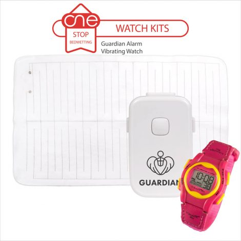 Guardian Bedside Bedwetting Alarm Watch Kit - One Stop Bedwetting