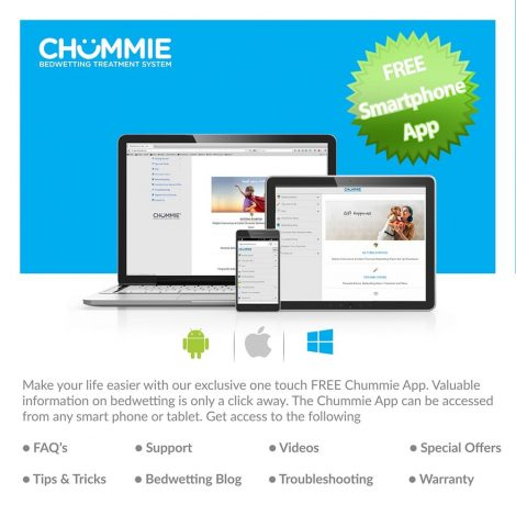 Chummie Pro Bedside Bedwetting Alarm - One Stop Bedwetting