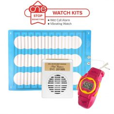 Wet Call Bedwetting Alarm Watch Kit - One Stop Bedwetting