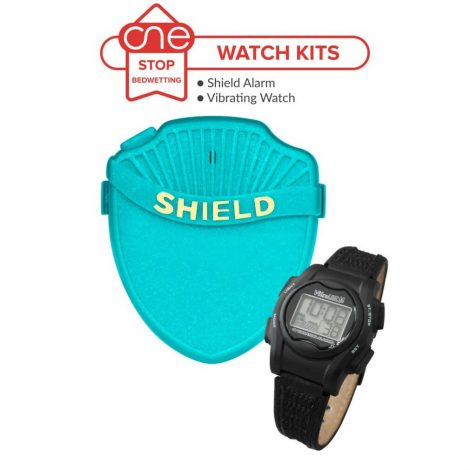 Shield Max Bedwetting Alarm Watch Kit - One Stop Bedwetting