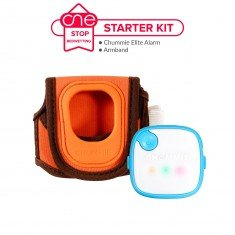 Chummie Elite Bedwetting Alarm Starter Kit - One Stop Bedwetting