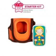 Smart Bedwetting Alarm Starter Kit - One Stop Bedwetting