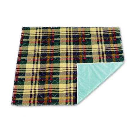 Tartan Protective Waterproof Bedding - One Stop Bedwetting