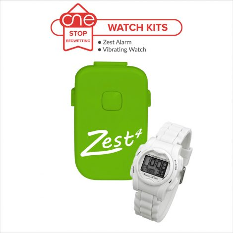 Zest Bedwetting Alarm Watch Kit - One Stop Bedwetting