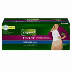 Depend FIT-FLEX Underwear and Udult Bed Wetting Diapers - One Stop Bedwetting