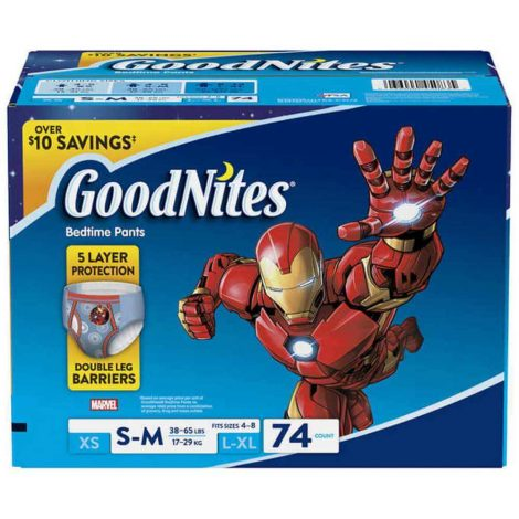 GoodNites Boys Nighttime Underwear - One Stop Bedwetting