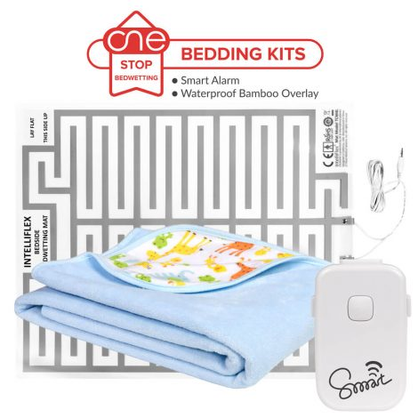 Smart Bedside Bedwetting Alarm Bedding Kit - One Stop Bedwetting