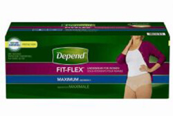 Depend FIT-FLEX Underwear for Women