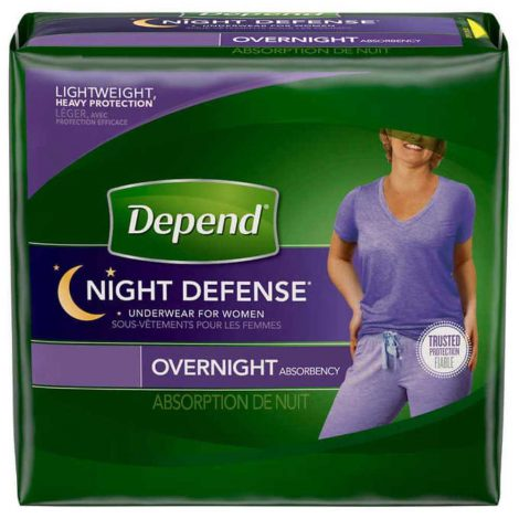 Depend Night Defense Underwear For Women - One Stop Bedwetting