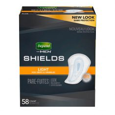 Depend Shields for Men Light Absorbency - One Stop Bedwetting