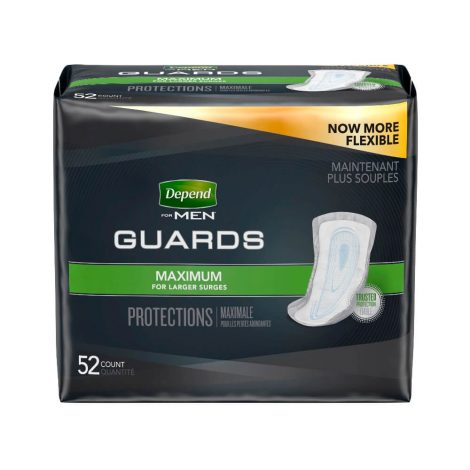 Depend Guards for Men Maximum Absorbency - One Stop Bedwetting