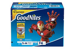 GoodNites Boys Nighttime Underwear