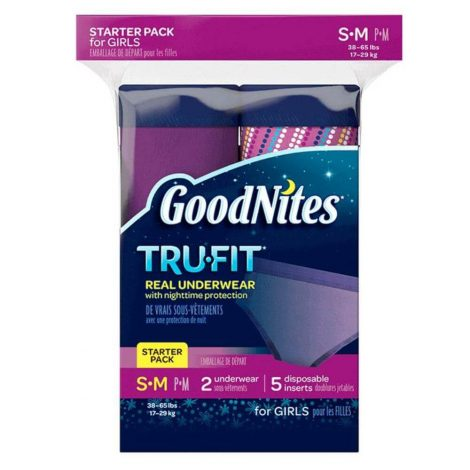 Goodnites Tru-Fit Bedwetting Underwear for Girls - One Stop Bedwetting