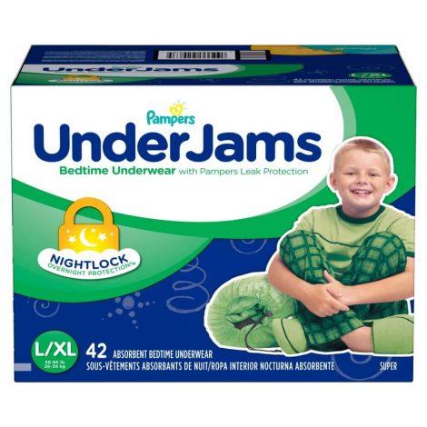 Pampers UnderJams Boys Bedtime Underwear - One Stop Bedwetting