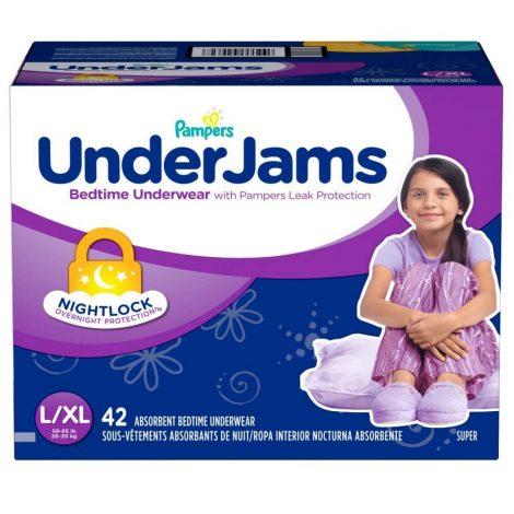 Pampers UnderJams Girls Bedtime Underwear - One Stop Bedwetting